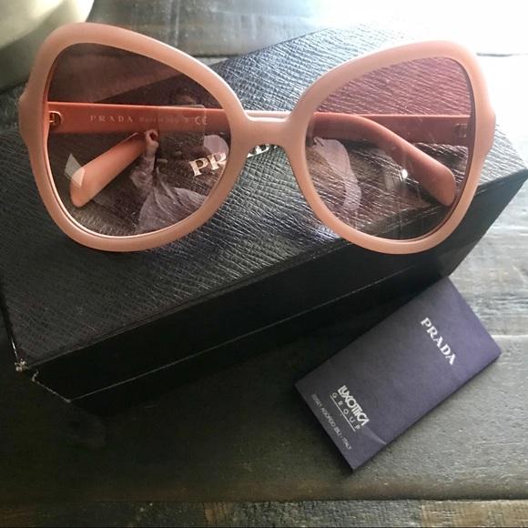 2273de33941 Pink Prada Butterfly Sunglasses. M 5b7c54a05bbb80e7710a94f1